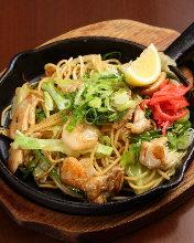 Kyoto-style yakisoba noodles
