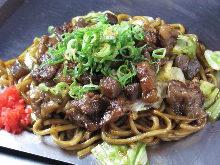 Bokkake yakisoba noodles