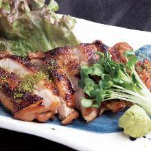 Sanzoku-yaki (large fried chicken)