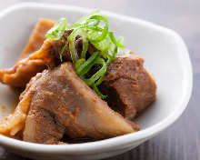 Dote-ni with beef sinew