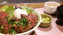 Steak rice bowl