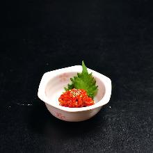 Chanja (Korean spicy marinated cod innards)