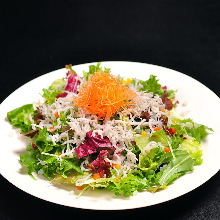Whitebait salad
