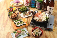 4,000 JPY Course (9  Items)
