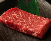 Wagyu beef round steak