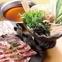 イベリコ豚レタしゃぶ鍋