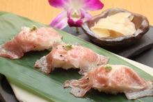 塩ロース炙り寿司