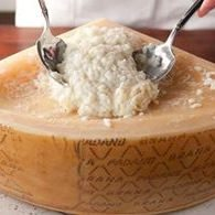 Cheese risotto