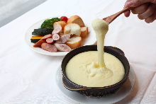Mashed potatoes with cheese
