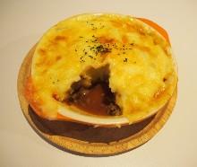 Cheese gratin