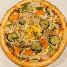 Vegetable pizza