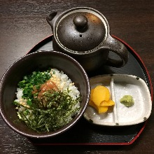 Ochazuke(rice with tea)