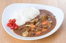 Beef tongue curry