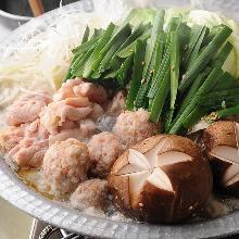 Chicken sumo wrestlers' stew