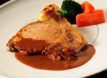 Pork steak (Tonteki)