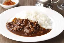 Hashed meat with rice