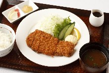 Pork cutlet meal set