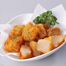 Deep-fried daikon radish