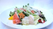 Seafood marinade