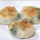 Garlic chive gyoza