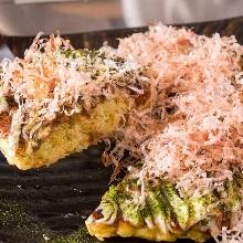 Kansai-style okonomiyaki