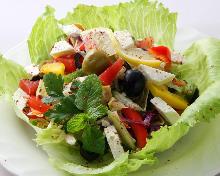 Cheese salad