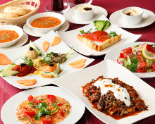 Lunch set menu B