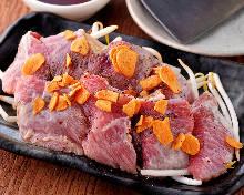 Tuna cheek steak