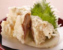 Clam tempura
