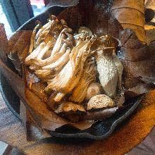 Mushroom dishes