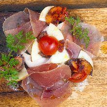 Assorted prosciutto