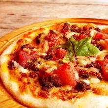 Mexican chili pizza