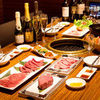 A novelty prime yakiniku course (12 items total)