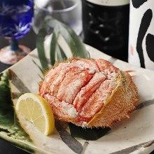 Seafood futomaki sushi rolls