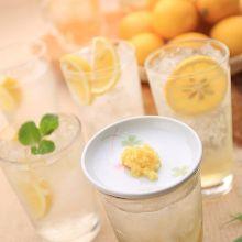 Mint lemon sour