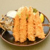 Fried horse mackerel