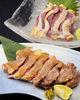 Pheasant thigh sashimi or grilled with salt