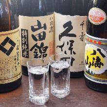Sake (hot sake and cold sake)
