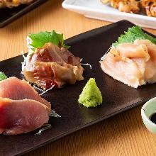Chicken Sashimi Platter