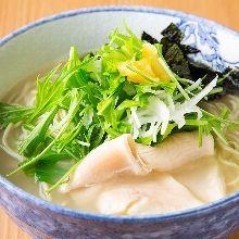 Yuzu soba noodles