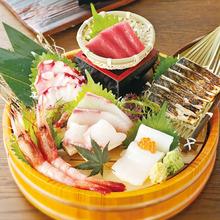 Assorted sashimi, 7 kinds