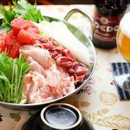 胡麻味噌豆乳めんたい鍋