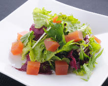 Tomato gelee salad
