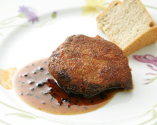 Foie gras croquette