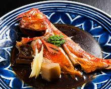 金目鯛煮魚