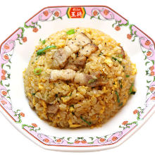 Fried rice with pork ribs