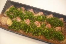 Amberjack sashimi