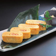 Omelet of spicy cod roe