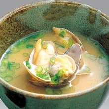 Other miso soups / clear soups