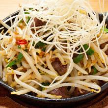 Garlic stir-fry
